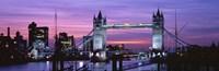 England, London, Tower Bridge Fine-Art Print