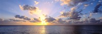 Sunset 7 Mile Beach Cayman Islands Caribbean Fine-Art Print