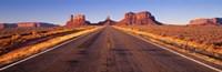 Road Monument Valley, Arizona, USA Fine-Art Print