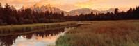 Sunrise Grand Teton National Park, Wyoming, USA Fine-Art Print
