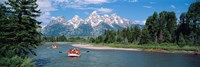 Rafters Grand Teton National Park WY USA Fine-Art Print