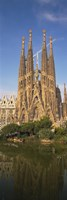 Low Angle View Of A Cathedral, Sagrada Familia, Barcelona, Spain Fine-Art Print