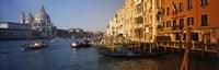 Italy, Venice, Santa Maria della Salute, Grand Canal Fine-Art Print