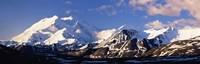 Mountain covered with snow, Alaska Range, Denali National Park, Alaska, USA Fine-Art Print