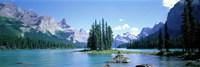Maligne Lake Near Jasper, Alberta, Canada Fine-Art Print
