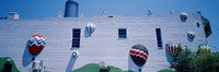 Building With Balloon Decorations, Louisville, Kentucky, USA Fine-Art Print