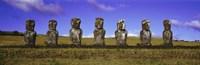 Moai Easter Island Chile Fine-Art Print