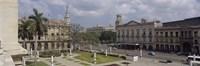 High angle view of a theater, National Theater of Cuba, Havana, Cuba Fine-Art Print
