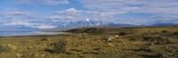 Clouds over a landscape, Las Cumbres, Parque Nacional, Torres Del Paine National Park, Patagonia, Chile Fine-Art Print