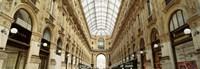 Interiors of a hotel, Galleria Vittorio Emanuele II, Milan, Italy Fine-Art Print