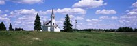 USA, South Dakota, Church Fine-Art Print