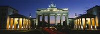 Low angle view of a gate, Brandenburg Gate, Berlin, Germany Fine-Art Print