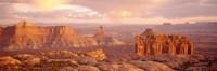 Rock formations on a landscape, Canyonlands National Park, Utah, USA Fine-Art Print