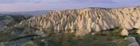 Hills on a landscape, Cappadocia, Turkey Fine-Art Print
