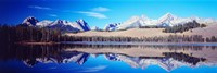 Little Redfish Lake Mountains ID USA Fine-Art Print