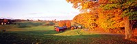 Fall Farm VT USA Fine-Art Print