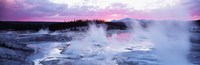 Sunset, Norris Geyser Basin, Wyoming, USA Fine-Art Print