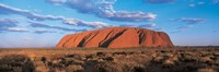 Sunset Ayers Rock Uluru-Kata Tjuta National Park Australia Fine-Art Print