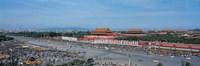 Aerial view of Tiananmen Square Beijing China Fine-Art Print