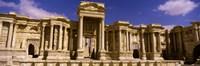 Facade of a theater, Roman Theater, Palmyra, Syria Fine-Art Print