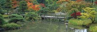 Plank Bridge, The Japanese Garden, Seattle, Washington State, USA Fine-Art Print
