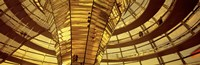 Glass Dome from Interior, Reichstag,Berlin, Germany Fine-Art Print