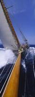 Yacht Mast Caribbean Fine-Art Print