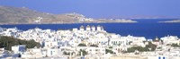 Aerial View of Mykonos, Greece Fine-Art Print