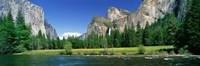 Bridal Veil Falls, Yosemite National Park, California, USA Fine-Art Print