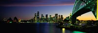 Sydney Australia at dusk Fine-Art Print