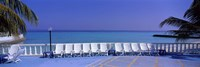 Lounge Chairs, Giraavaru, Maldives Fine-Art Print