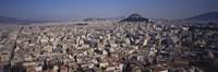 View Of Licabetus Hill and City, Athens, Greece Fine-Art Print
