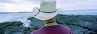 Man with Straw Hat Galapagos Islands Ecuador Fine-Art Print