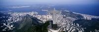 Aerial, Rio De Janeiro, Brazil Fine-Art Print