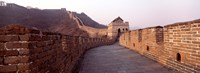 Path on a fortified wall, Great Wall Of China, Mutianyu, China Fine-Art Print