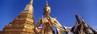 Wat Phra Kaeo, Grand Palace, Bangkok, Thailand Fine-Art Print