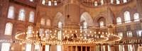 interior of Blue Mosque, Istanbul, Turkey Fine-Art Print