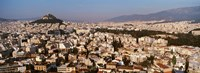 Aerial View of Athens, Greece Fine-Art Print