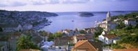 Town On The Waterfront, Hvar Island, Hvar, Croatia Fine-Art Print