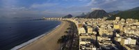 High Angle View Of The Beach, Copacabana Beach, Rio De Janeiro, Brazil Fine-Art Print