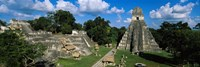 Ruins Of An Old Temple, Tikal, Guatemala Fine-Art Print