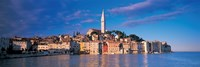 City on the waterfront, Rovinj, Croatia Fine-Art Print