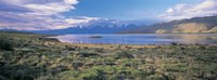 Clouds over a river, Mt Fitzroy, Patagonia, Argentina Fine-Art Print