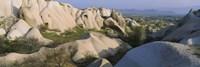 Rock formations on a hill, Turkey Fine-Art Print