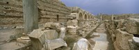 Ruins of ancient Roman city, Leptis Magna, Libya Fine-Art Print