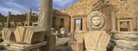 Old ruins, Leptis Magna, Libya Fine-Art Print