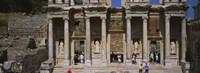 Old ruins of Library At Epheses, Ephesus, Turkey Fine-Art Print