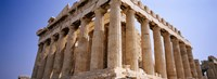 Old ruins of a temple, Parthenon, Acropolis, Athens, Greece Fine-Art Print