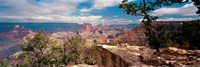 Rock formations in a national park, Mather Point, Grand Canyon National Park, Arizona, USA Fine-Art Print