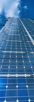 Low angle view of solar panels, Germany Fine-Art Print